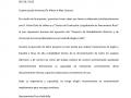 Carta de recomentaciónProinelca Power S.L