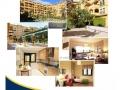 Folleto publicitario de promoción inmobiliaria