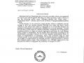 Carta Lukoil traducida al inglés acondicionada
